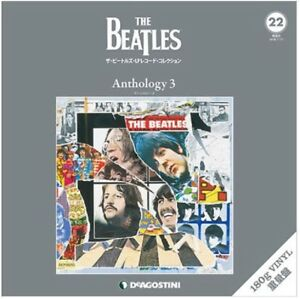 Beatles-LP-Record-Collection-Anthology-3-180g-Vinyl-Deagostini-Japan-Magazine
