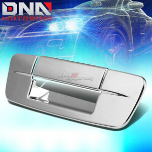 FOR DODGE RAM DS//DJ CHROME TAILGATE TRUNK HANDLE COVER NO KEYHOLE REAR TRIM KIT