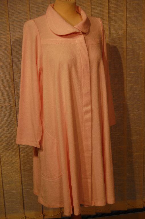 Gattina Bademantel kurz Gr. 38 pink Leicht – Fredtee 93404