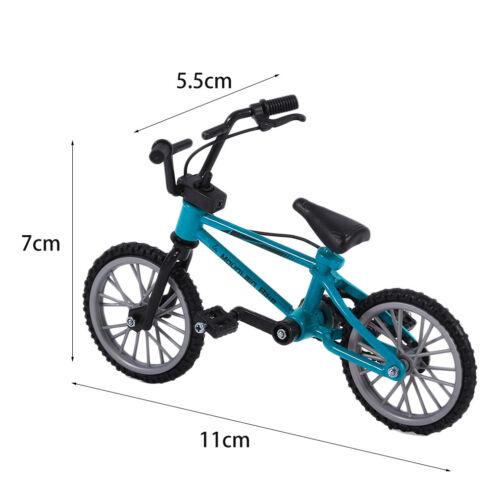 Bonito Mini Dedo Liga Brinquedos De Bicicleta Mountain Bike Ciclismo Modelo Tech Deck Presente