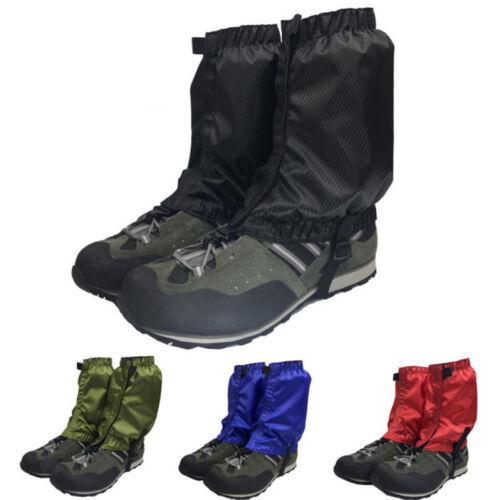 Waterproof Walking Hiking Outdoor Trekking Boot Ankle Gaiters for Women Men