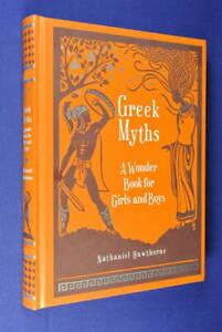 GREEK-MYTHS-Nathaniel-Hawthorne-A-WONDER-BOOK-FOR-GIRLS-amp-BOYS