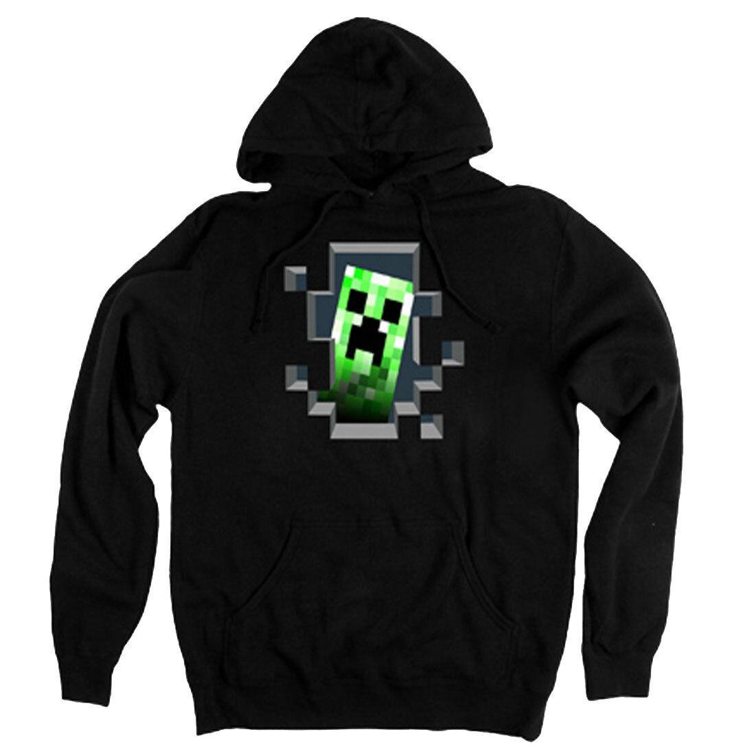 Minecraft Creeper Inside Adult Hoodie - Official Mojang Video Game Xbox Hoodie