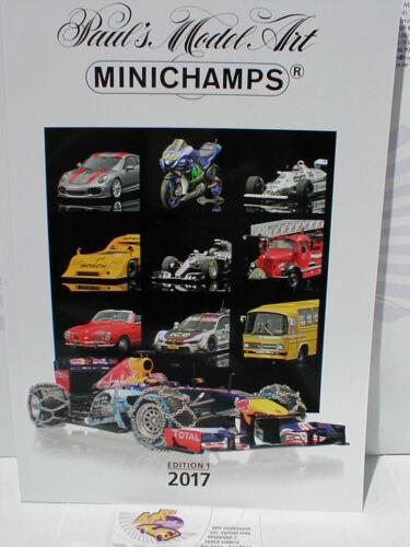 Minichamps katmi 2017 # Minichamps Catalogo Edition 1 2017