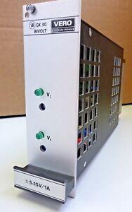 Bicc-Vero-Schaltnetzteil-GK30-Bivolt-Typ-116-34475B-5-15V-1A-NOS