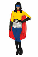 Red Superhero Cape Unisex Cosplay Adult Size Be Your Own Hero