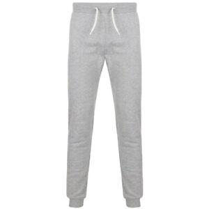 Pantalon Jogging Homme Classique Sth Shore Coton Gris Taille XL