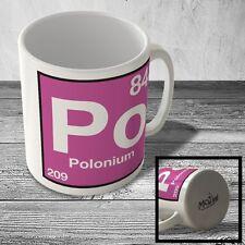 MUG_ELEM_109 (84) Polonium - Po - Science Mug