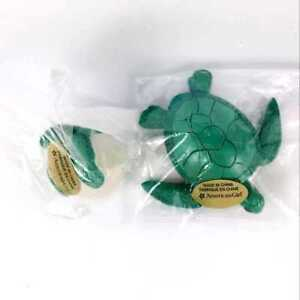 2x-Sea-Turtle-amp-Turtle-Egg-Green-from-Lea-039-s-Beach-Set-for-18-034-American-Girl-toy