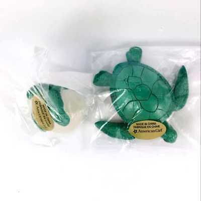 "Lot2pcs Green Sea Turtle /& Turtle Egg from Lea/'s Beach Set for 18/"" American Girl"