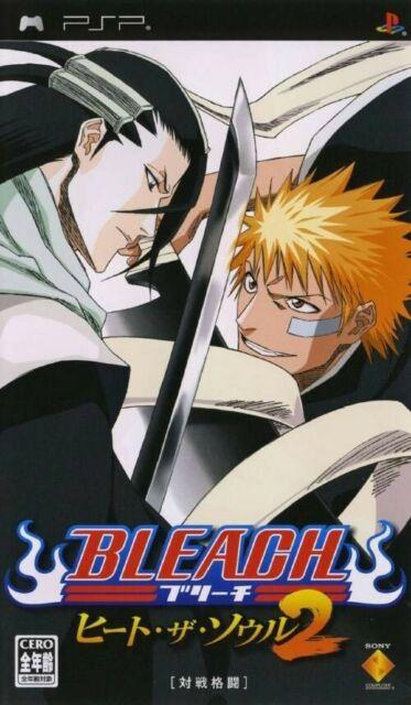 PSP jeu - Bleach: Heat the Soul 2 JAP dans l'emballage utilisé