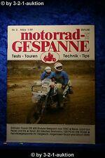 Motorrad Gespanne Nr.2 1/89 VMC Suzuki DR 600 Enduro Ullrich BMW