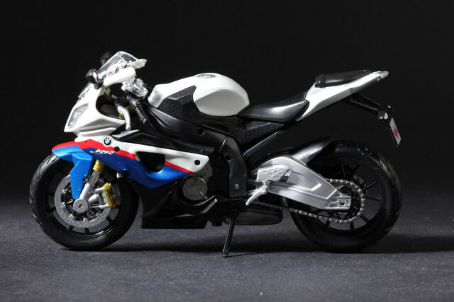 Diecast Motorcycle Model Toys Maisto 1 12 Bmw S1000 Rr Sport Bike Replica For Sale Online Ebay