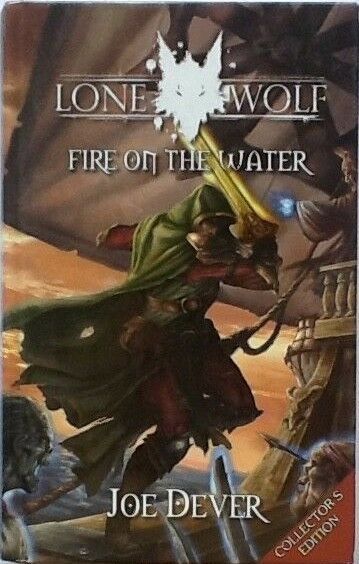LONE WOLF - JOE DEVER - NO. 2 FIRE ON THE WATER - COLLECTORS ED. SIGNED