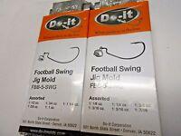 Rock Island Sports Do-it Football Swing Jig Molds Combined Shipping