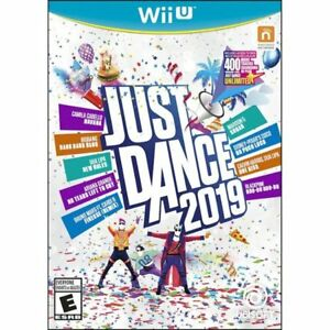 Just-Dance-2019-Nintendo-Wii-U-Brand-New-Factory-Sealed-Newest-title