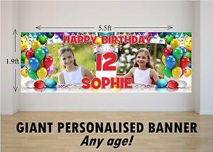 Personalised-GIANT-Large-Happy-Birthday-Banner-Balloons-Boys-Girls-N36