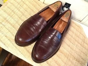 7763fa764dd Vintage MEN S COACH LEATHER BROWN PENNY LOAFER SHOES SIZE 9.5 MADE ...