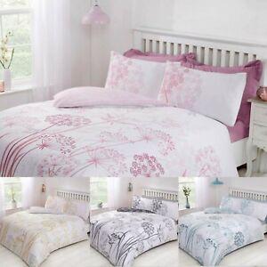 Country-Meadow-ropa-de-cama-reversible-funda-nordica-y-funda-de-almohada-Set