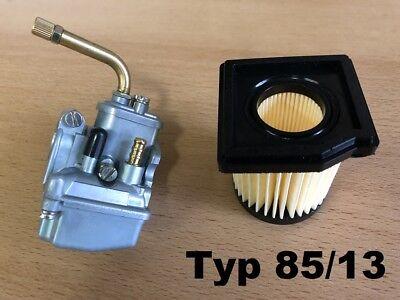 12mm Vergaser Bing 85//12 f/ür Hercules Sachs Prima 2 3 4 5 GT 504 505