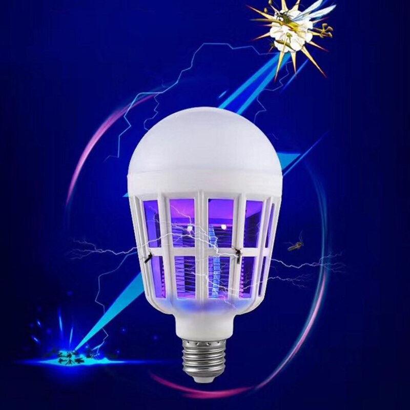 E27 15w 2 In 1 Bug Zapper Led Bulb Mosquito Killer Lamp