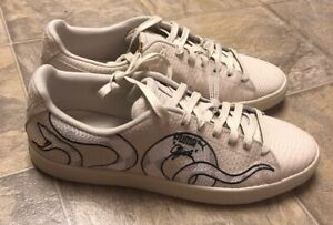 Details about Rare!!! NEW Puma Clyde Embroidered Snake Shoes 36811101 Men's Size 12