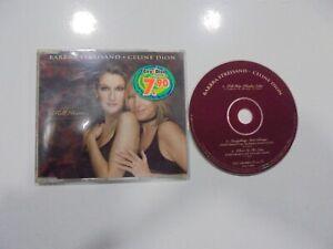 Barbra Streisand / Celine Dion CD Single Österreich Tell Him 1997