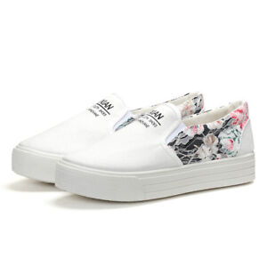 Women-Canvas-Shoes-Breathable-Casual-Slip-On-Sneakers-Fashion-Flat-Loafers