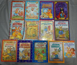 13-ARTHUR-the-aardvark-kids-picutre-amp-chapter-books-marc-brown-stories-lot