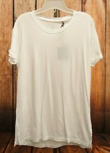 c1c6b7e5edc2 New Tommy Bahama Womens White Cotton Cruise Wear Resort Wear T-Shirt ...