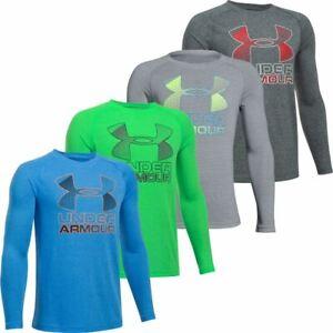 Under-Armour-Youth-Boys-Hybrid-Big-Logo-Long-Sleeve-T-Shirt-40-OFF