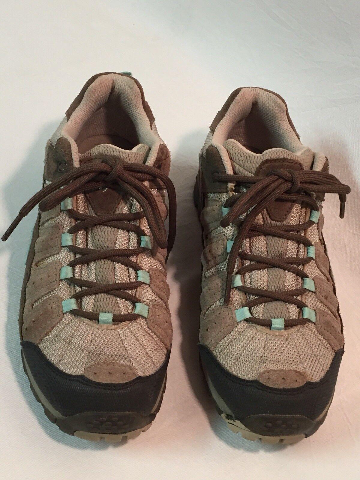 Para Mujer Columbia Taupe Azul Claro Pima  Trail tamaño del zapato 8.5 precio minorista sugerido por el fabricante  82.50  conveniente