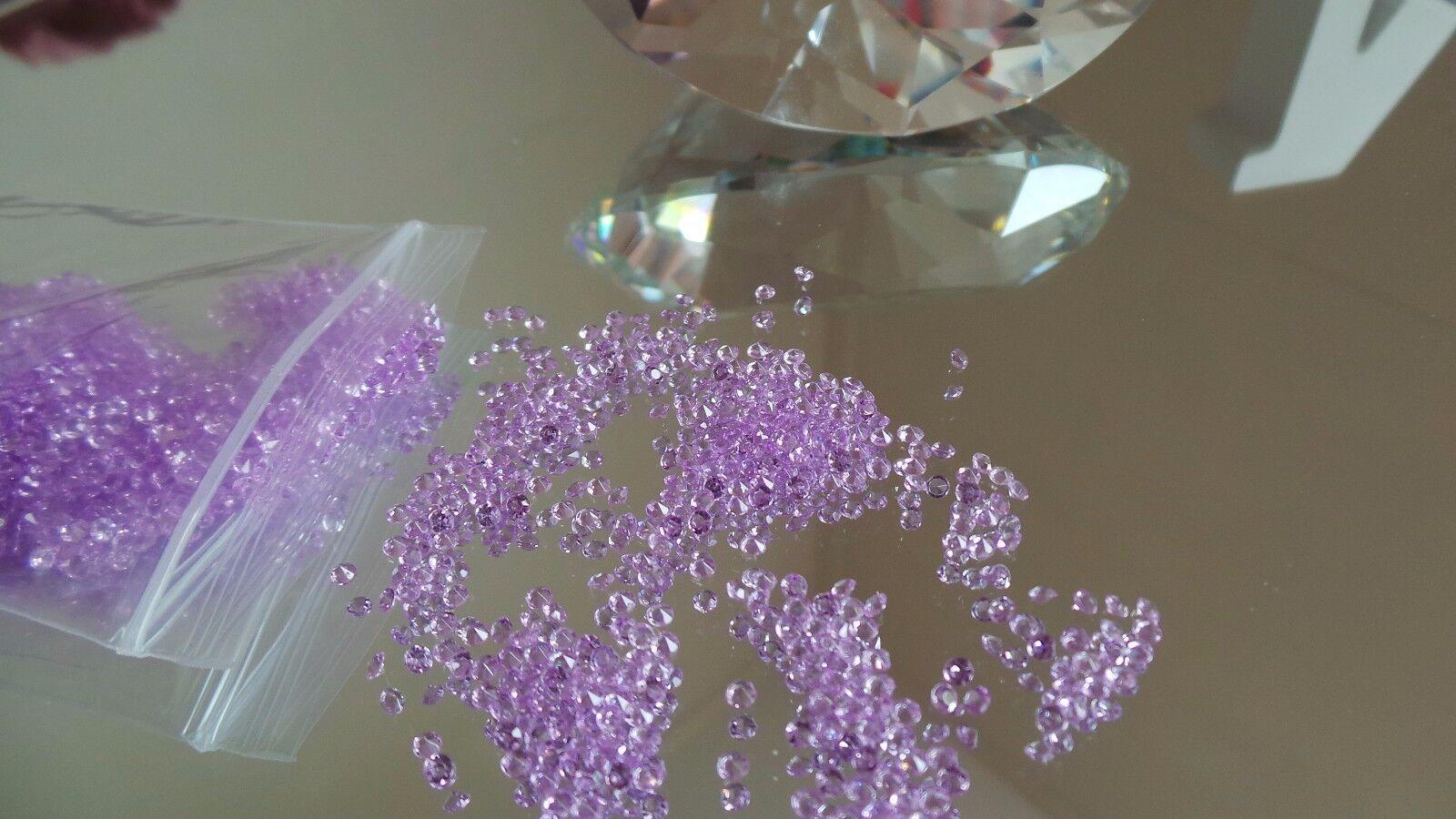 5000  2.5MM//4.5MM Craft Diamond Gems Plastic Acrylic Arts Crafts Wedding Crystal