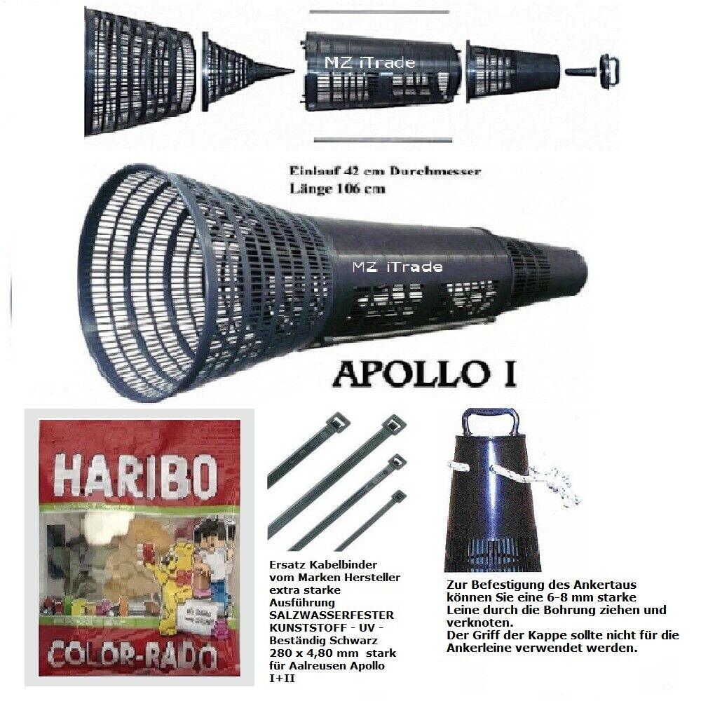 FREEACTION AALREUSE aalreusen aalkorb cancro Cesto cancro reuse FISH Trap Apollo i1ha