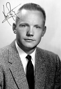 WohltäTig Neil Armstrong Repro-autogramm 20x25cm apollo 11 Repro Autograph Signed