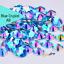 Acrylic-Crystal-Rhinestones-Pearls-Bead-Flat-Back-MIX-3-SIZES-Nail-Art-Gems thumbnail 3