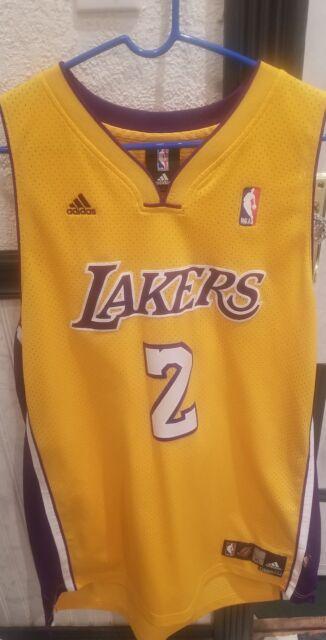 f3ba9a7cc VTG Adidas Los Angeles Lakers Derek Fisher Jersey Mens XL Sewn 2 Lonzo  LeBron