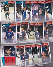1983 - 84 OPC Team SET Lot of 19 Winnipeg JETS NM+ o-pee-chee HAWERCHUK BABYCH