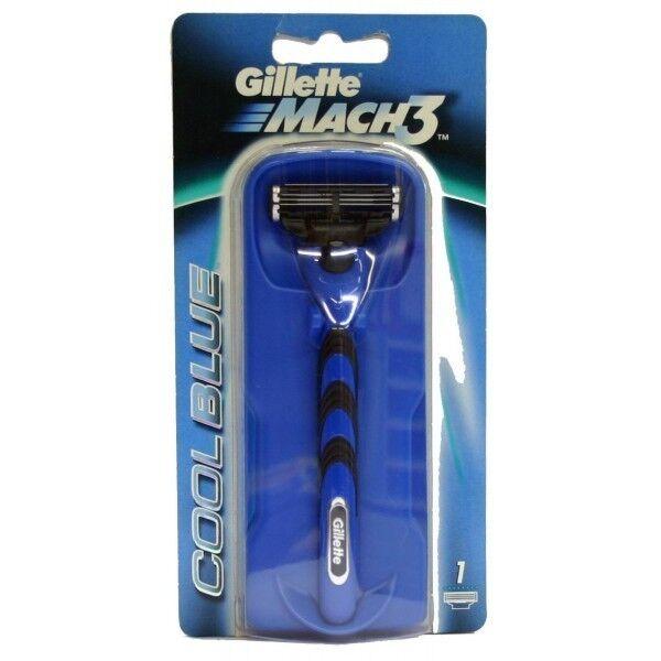 GILLETTE MACH3 COOL BLUE - Maquinilla de afeitar / Razor Blade - Mach 3