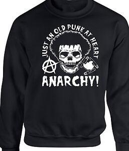 Just Sweatshirt Original 70s Rock Design Top An T Heart Punk shirt White Gift Old x4fYwCqT