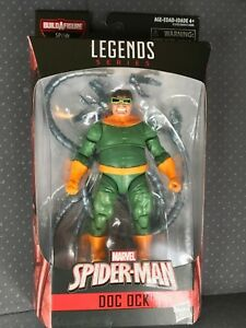 Marvel-Legends-6-034-Doctor-Octopus-New-Sealed-Mint-SP-dr-BAF-Spider-Man-Doc-Ock