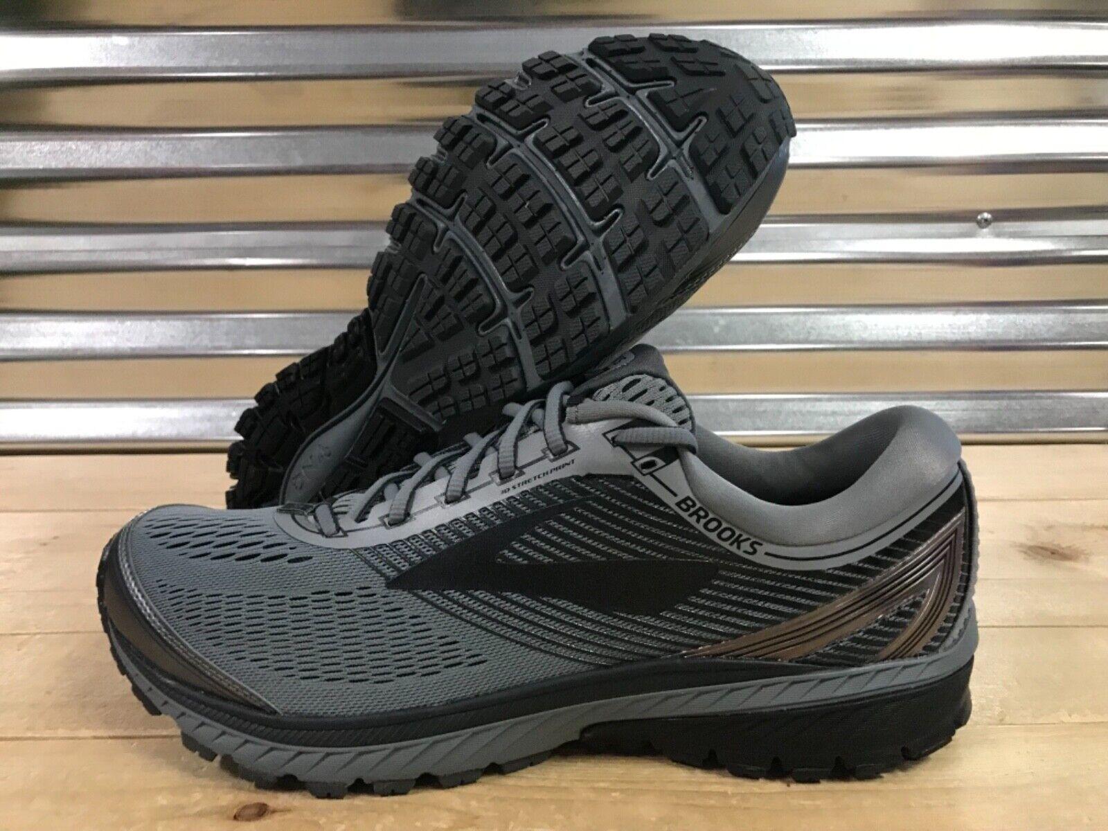 Brooks Ghost 10 Running shoes DNA 3M Dark Grey Black SZ ( 1102571D034 )