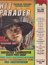 JAN 1971 HIT PARADER vintage rock and roll music magazine MICK JAGGER