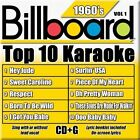 Billboard Top 10 Karaoke: 1960's by Karaoke (CD, May-2005, Sybersound)