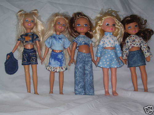 """NG Creations Sewing Pattern #PP76 fits 10/"""" Stacie Barbie Sis /& MGA 4 Ever Dolls"""