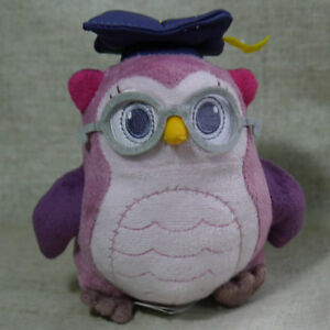 Doc-McStuffins-friend-professor-hootsburg-Owl-6-034-Stuffed-Doll-Plush