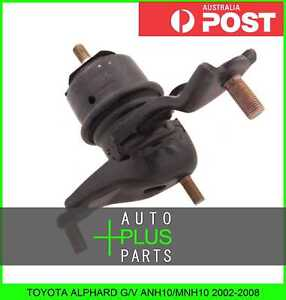 Fits TOYOTA ALPHARD G//V ANH10 Right Hand Rh Engine Motor Mount Rubber