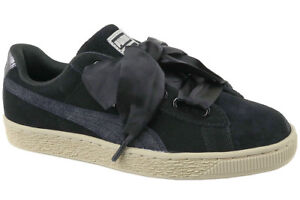 official photos 06aae 787ee Shoes PUMA Suede Heart Safari Wn's Size 39 364083-03 Black
