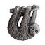 縮圖 1 - Sloth Pewter Pin Badge