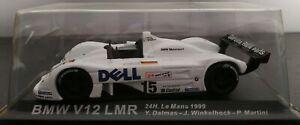 1-43-BMW-V12-LMR-24H-LE-MANS-1999-DALMAS-MARTINI-WINKELHOCK-IXO-ALTAYA-ESCALA